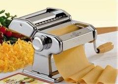 Hand crank pasta maker
